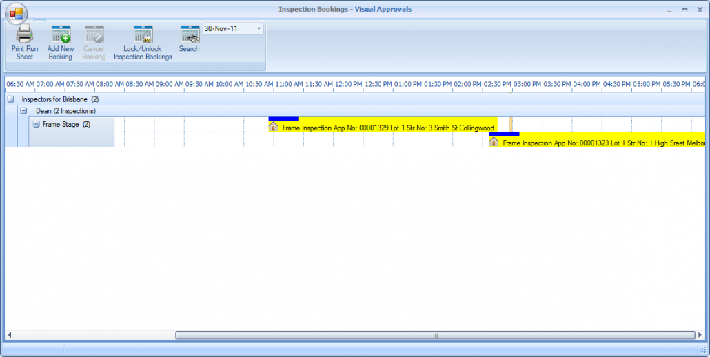 Key Features - Inspections - Virtually Manage Inspections (Graphical Interface)