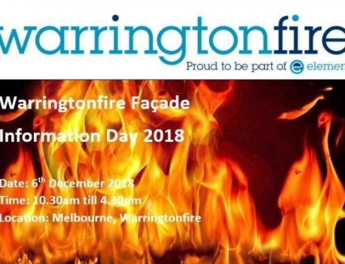 Warringtonfire Facade Information Day 2018, with CPD Solutions